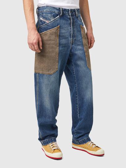 Diesel - D-Franky 0GCAY, Medium blue - Jeans - Image 3