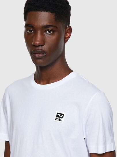 Diesel - T-DIEGOS-K30, White - T-Shirts - Image 3