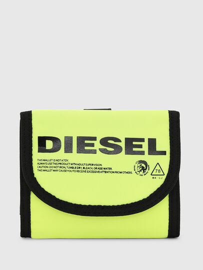 Diesel - YOSHINO LOOP, Yellow - Small Wallets - Image 1