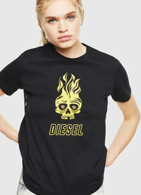 T-SILY-WQ, Black/Yellow