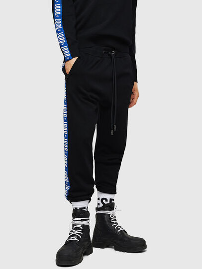 Diesel - K-SUIT-B, Black/Blue - Pants - Image 1