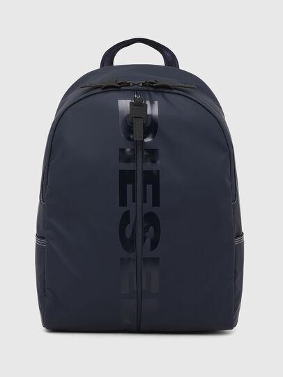 Diesel - BOLD BACK II, Dark Blue - Backpacks - Image 1