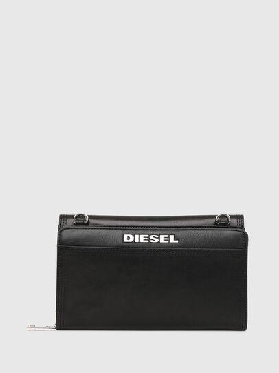 Diesel - DUPLET LCLT, Black - Zip-Round Wallets - Image 2