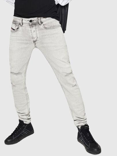 Diesel - Sleenker 0090F, Light Grey - Jeans - Image 1