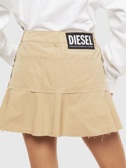 Diesel - O-BETH, Beige - Skirts - Image 2