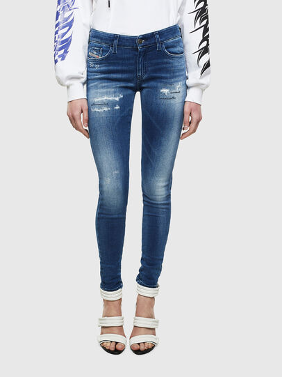 Diesel - Slandy 009IG, Medium blue - Jeans - Image 1
