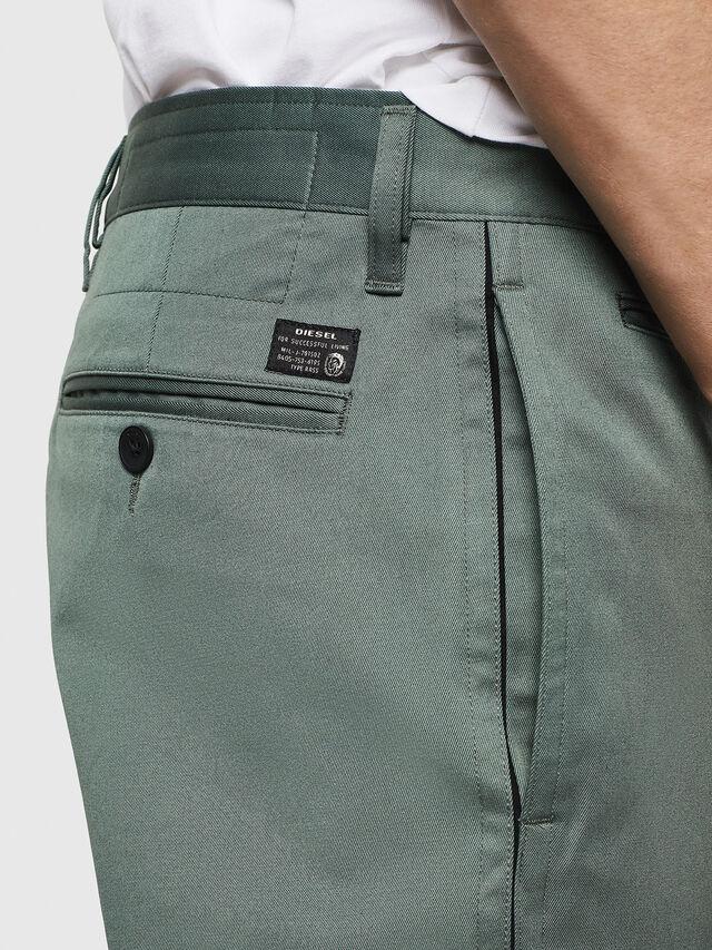 Diesel - P-MAD-ICHIRO, Green Melange - Pants - Image 3