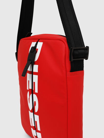 Diesel - F-BOLD SMALL CROSS, Red - Crossbody Bags - Image 4
