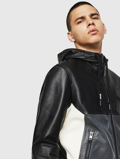 Diesel - L-CARR,  - Leather jackets - Image 5