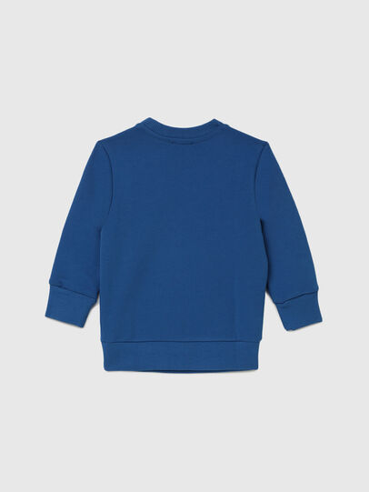 Diesel - SCREWDIVISION-LOGOB-, Blue - Sweaters - Image 2