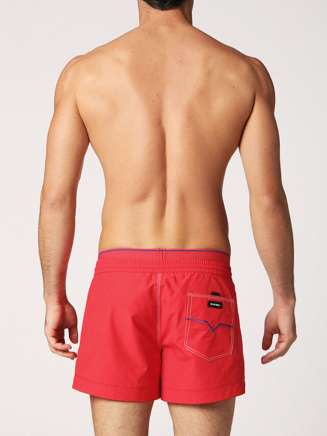 Diesel - BMBX-SEASIDE-S 2.017, Fire Red - Swim shorts - Image 2