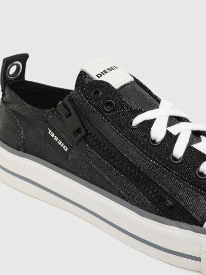 Diesel - S-ASTICO LOW ZIP W, Black - Sneakers - Image 4