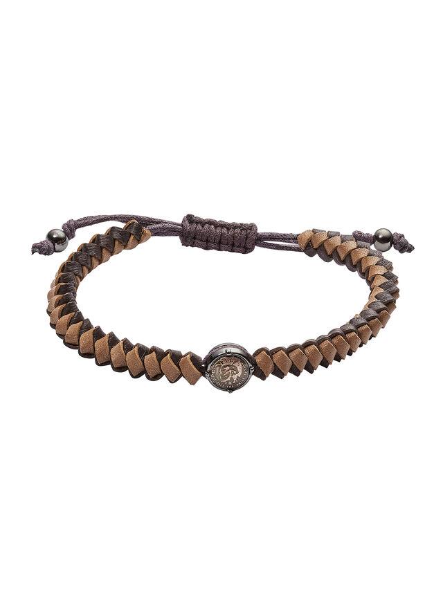 Diesel BRACELET DX1066, Brown - Bracelets - Image 1