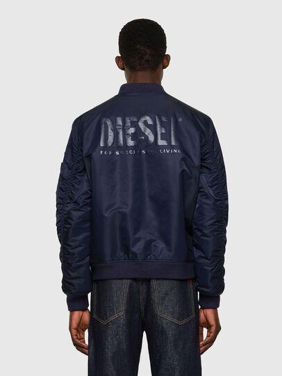 Diesel - J-ROSS-REV-A, Dark Blue - Jackets - Image 2
