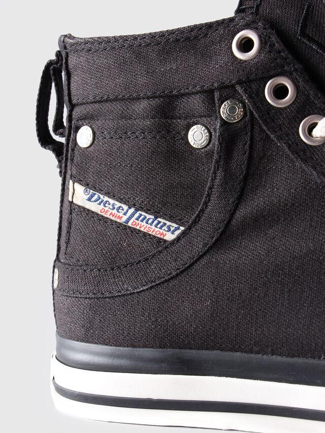 Diesel - EXPOSURE W, Black/White - Sneakers - Image 5