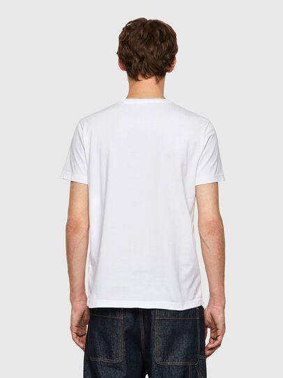 Diesel - T-DIEGOS-B9, White - T-Shirts - Image 2