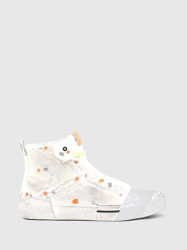 S-DESE SCT, White/Orange - Sneakers