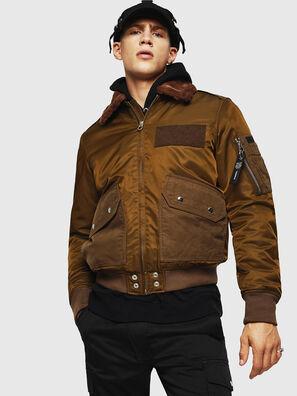 W-SLOTKIN-A, Green/Brown - Winter Jackets