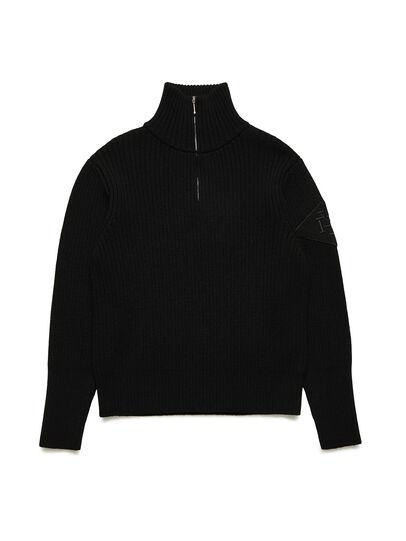 Diesel - GR02-N301, Black - Knitwear - Image 1
