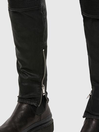 Diesel - D-Derrot JoggJeans® 069QY, Black/Dark grey - Jeans - Image 5