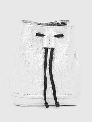 BUCKETTINO, Silver - Crossbody Bags