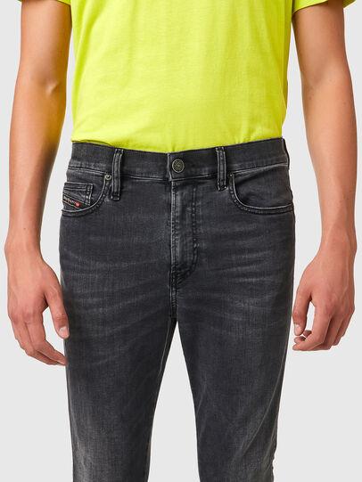 Diesel - D-Istort 069YC, Black/Dark grey - Jeans - Image 3