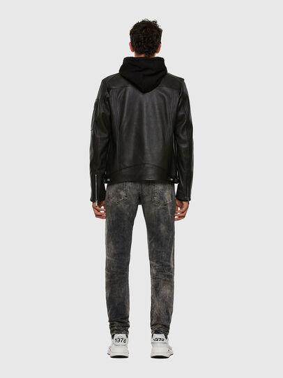Diesel - L-CASE-KA, Black - Leather jackets - Image 7