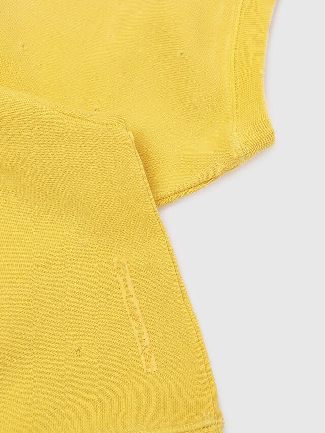 Diesel - SFADAM MC, Yellow - Sweaters - Image 4