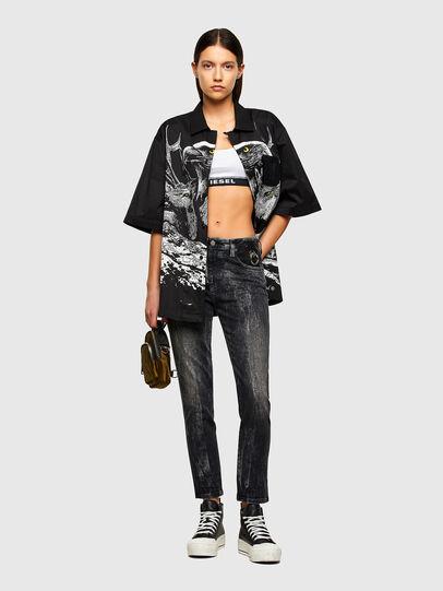 Diesel - Babhila 009PX, Black/Dark grey - Jeans - Image 6