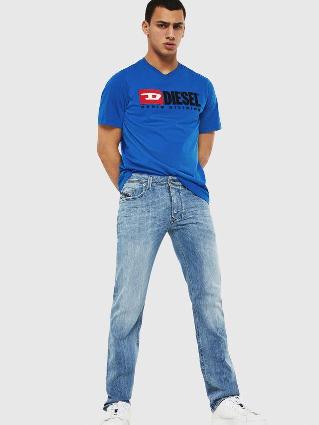 Diesel - Larkee 081AL, Light Blue - Jeans - Image 4