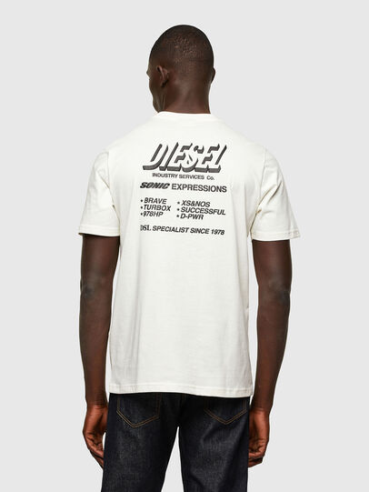 Diesel - T-JUST-A33, White - T-Shirts - Image 2