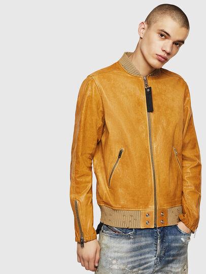 Diesel - L-DAVIDOV,  - Leather jackets - Image 1