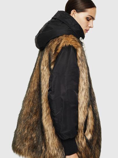 Diesel - L-ALYANA,  - Leather jackets - Image 6