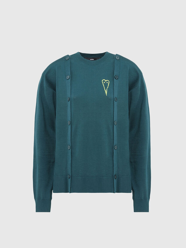 M-MIRANDA, Water Green - Knitwear
