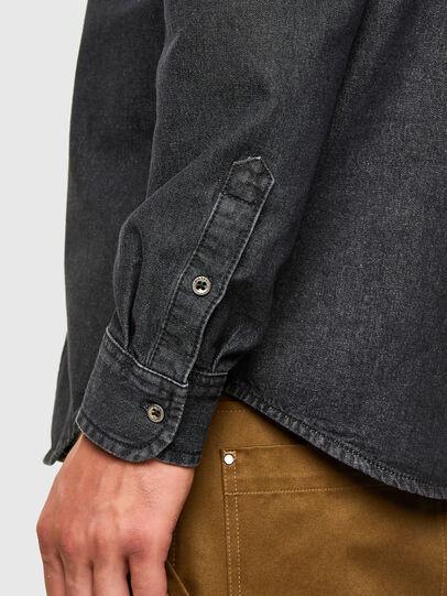 Diesel - D-BILLY, Black - Denim Shirts - Image 4