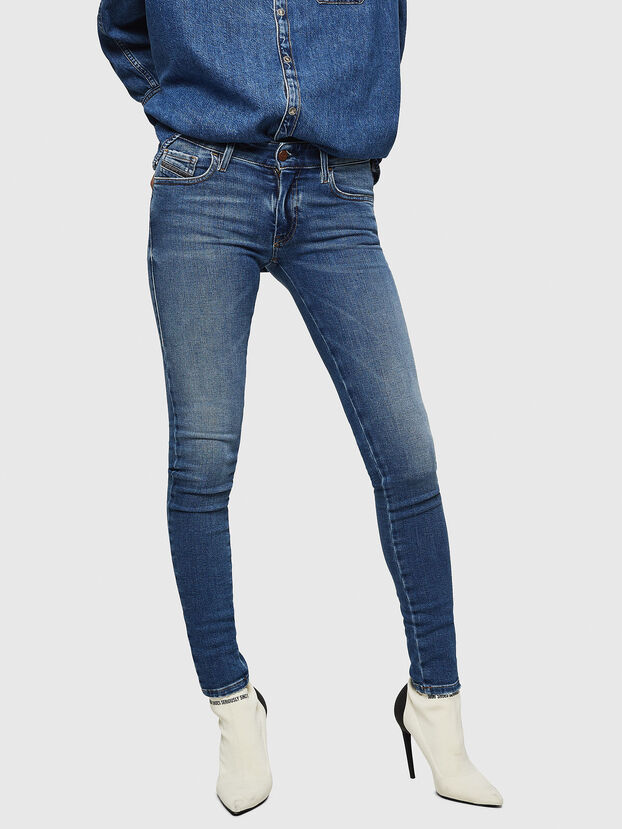 Slandy Low 083AN, Medium blue - Jeans