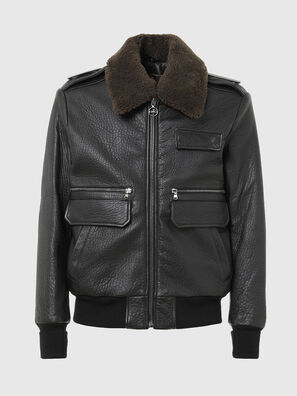 L-FRED, Black - Leather jackets