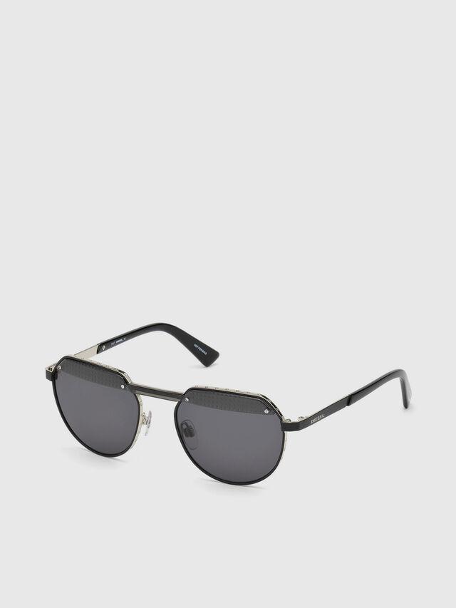 Diesel - DL0260, Black - Eyewear - Image 2