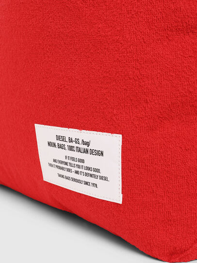 Diesel - F-THISBAG SHOPPER NS, Fire Red - Shopping and Shoulder Bags - Image 4