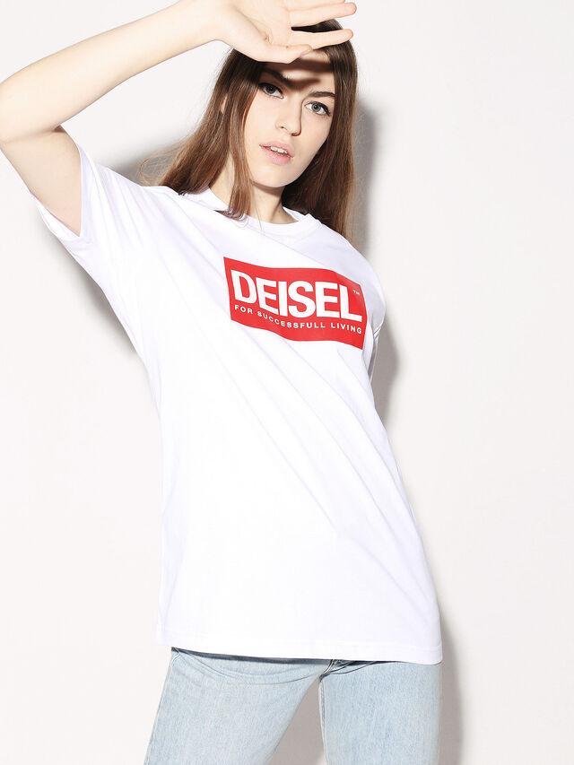 Diesel - DEIS-JUST, White - T-Shirts - Image 3
