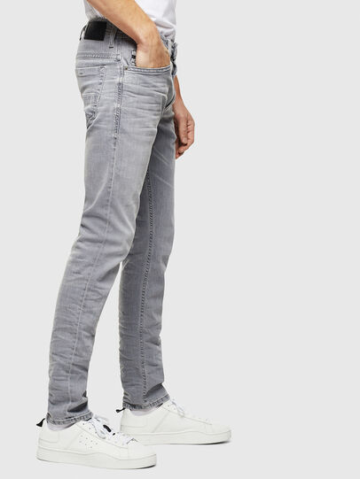 Diesel - Thommer 0890E, Light Grey - Jeans - Image 4