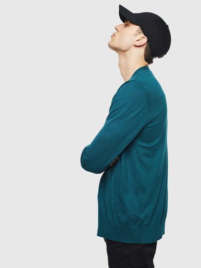 Diesel - K-TRASS, Dark Green - Knitwear - Image 4