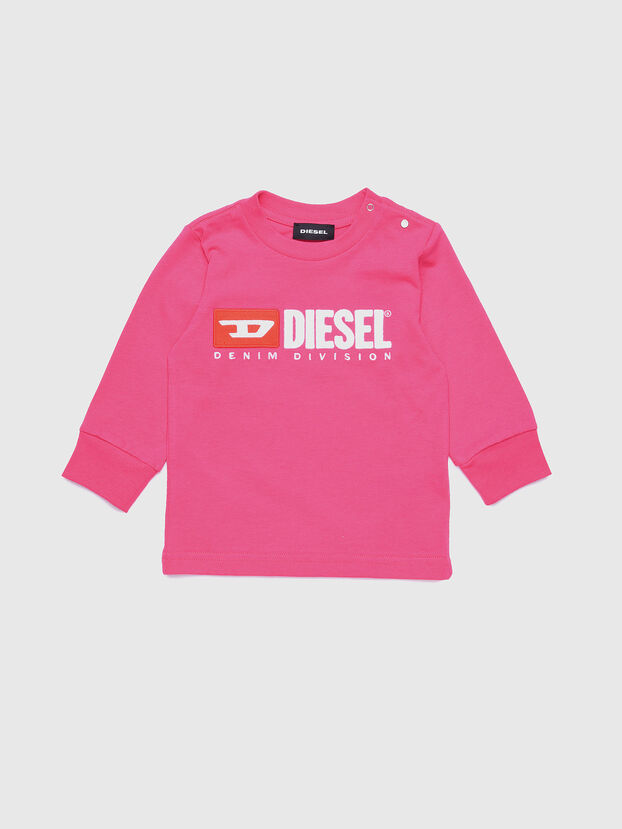 TJUSTDIVISIONB ML, Hot pink - T-shirts and Tops