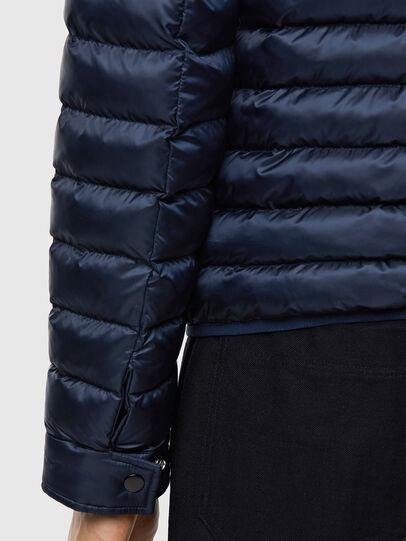 Diesel - W-DOLMIR-KA, Dark Blue - Winter Jackets - Image 5