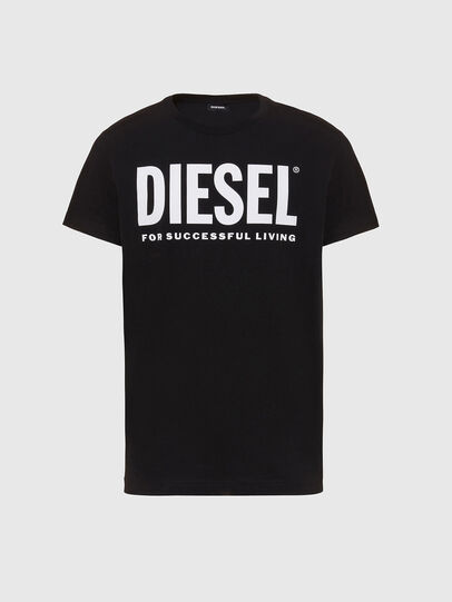 Diesel - T-SILY-WX, Black/White - T-Shirts - Image 1