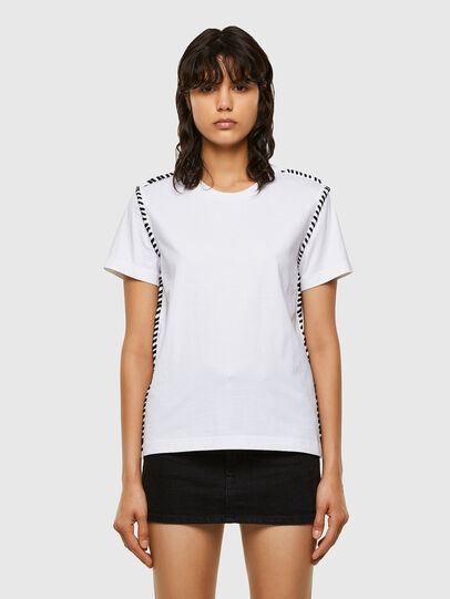Diesel - T-TWISTY, White - T-Shirts - Image 1