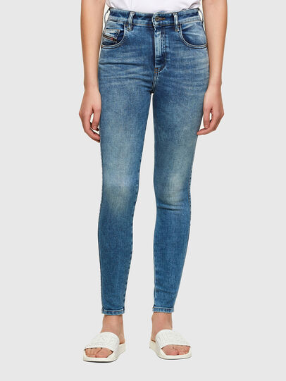 Diesel - Slandy High 009PT, Light Blue - Jeans - Image 1