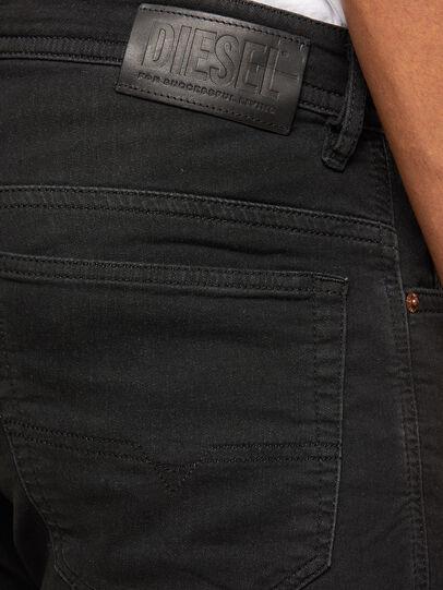 Diesel - Thommer JoggJeans 009IC, Black/Dark grey - Jeans - Image 4