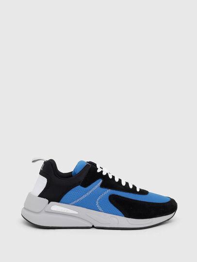 Diesel - S-SERENDIPITY LOW CU, Black/Blue - Sneakers - Image 1