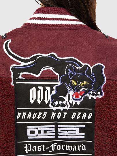 Diesel - L-KOLT, Violet - Leather jackets - Image 6